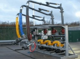 Electronic Controlled Bottom Loading Skid Carrs Billington