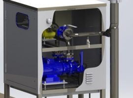 Fuel Dispensing Cabinet for Ship