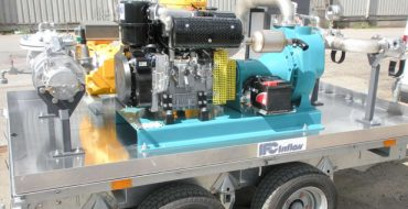 Hann Oil Pumping and metering trailers