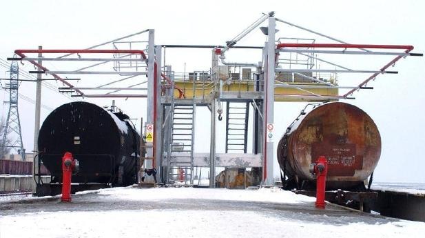 Top loading Rail Tanker Romania