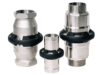 Mann tek safety break couplings