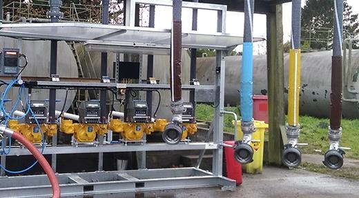 Mechanical loading Skid