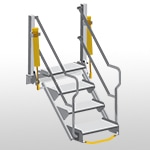 FlowStep - Folding Stairs