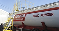 top tank tanker loading