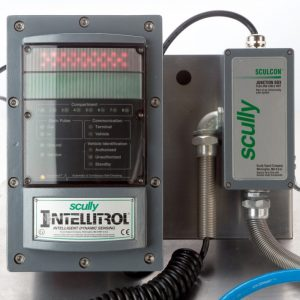 Scully Intellitrol overfill provention, static grounding and vehicle identification system